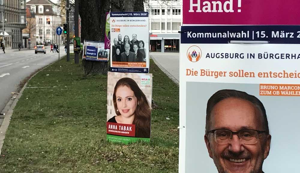 Wahlplakate – Pappe oder Plastik?