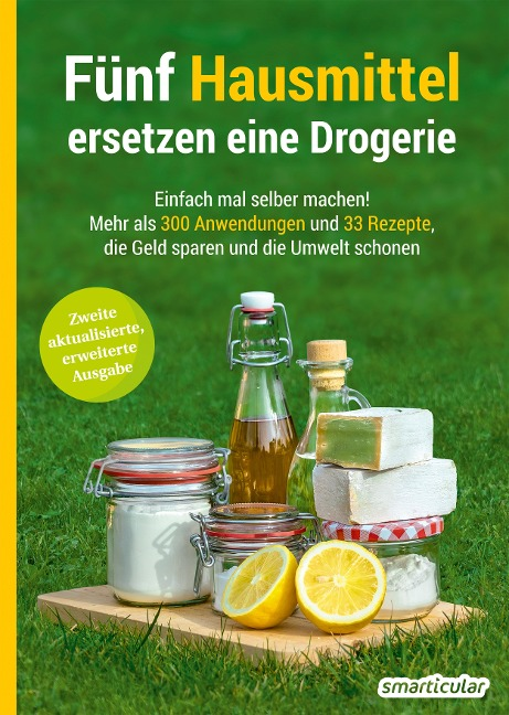Buch-Tipp: Fünf Hausmittel ersetzen eine Drogerie