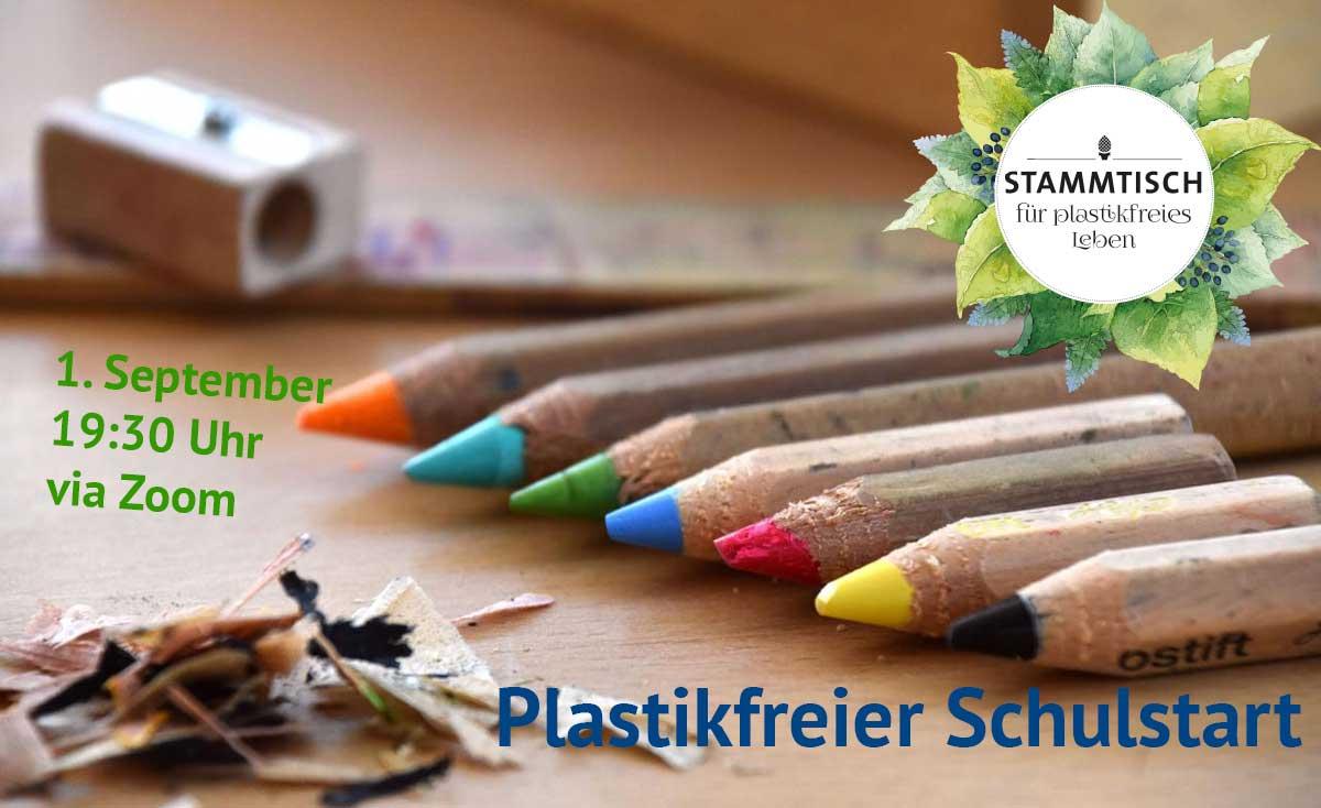 4. Virtueller Stammtisch: Plastikfreier Schulstart
