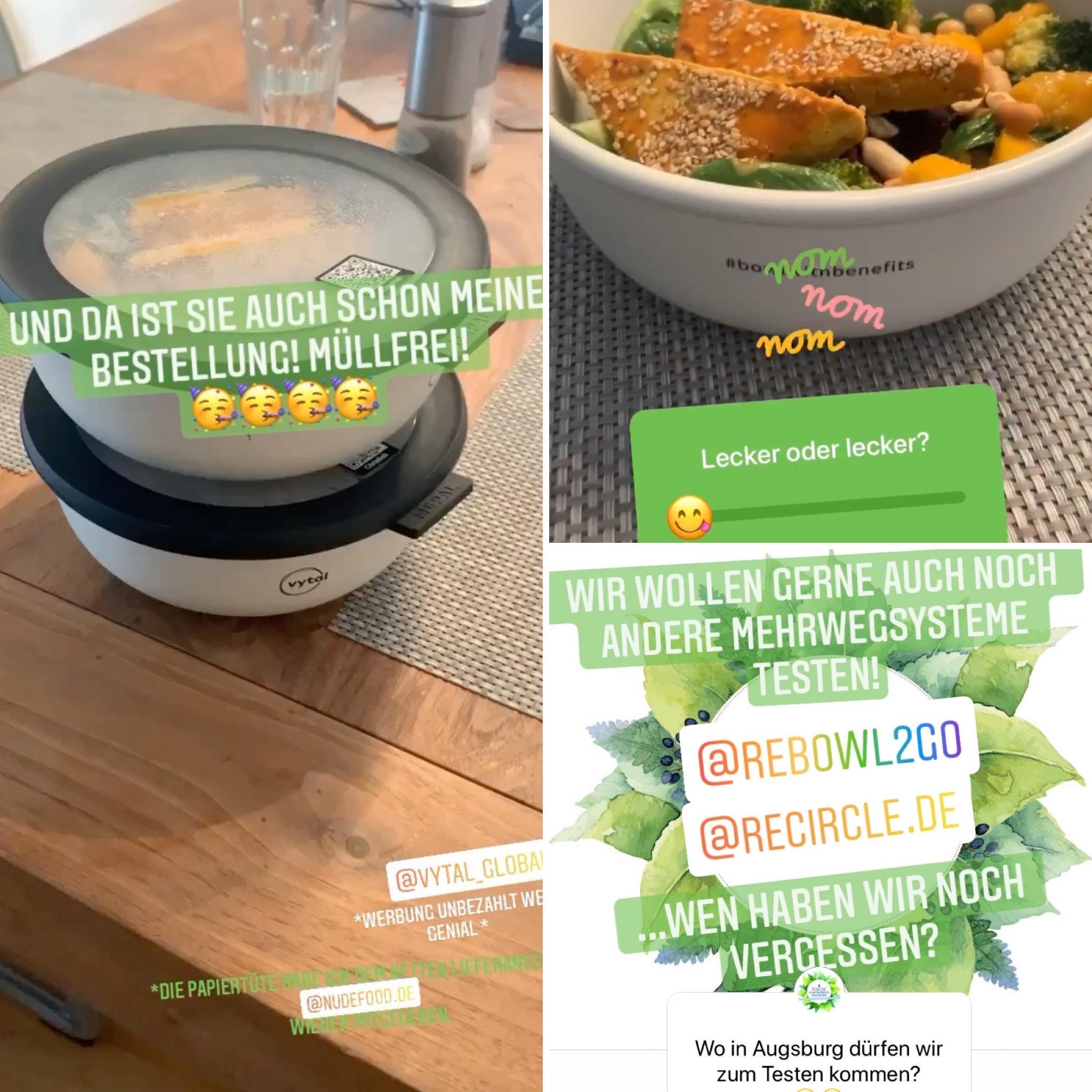 """Mehrweg-Systeme für Essen """"to go"""" im Test"""