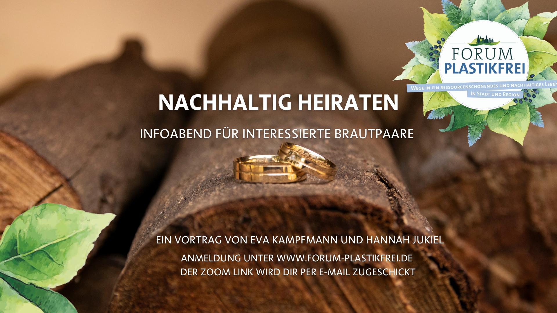 Nachhaltig heiraten – geht das?