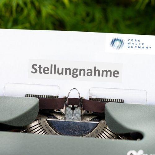 Read more about the article Stellungnahme von Zero Waste Germany zur Novelle des Verpackungsgesetzes
